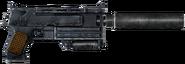Winterized N99 10mm silenced pistol