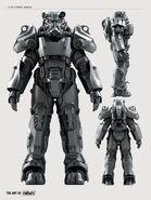 Art of Fo4 T-60 power armor
