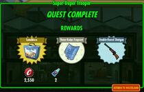 FoS Super-Duper Trooper rewards