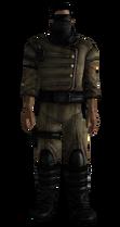 Battlegear Enclave officer