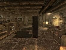Pawnshop interior