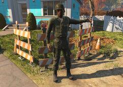 Sanctuary Hills soldier