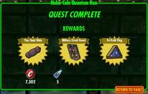 FoS Nuka-Cola Quantum Run rewards