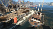 FO4 Waterfront boat