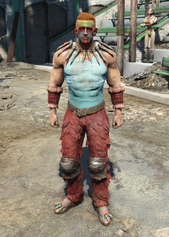 Cowhide Western Outfit Fallout 4 ~ 04IQ