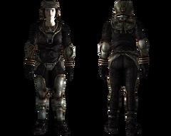 Lightweight metal armor female