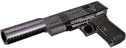 .45 autoloader silencer hand