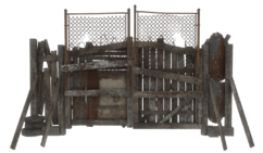 Fo4 junk fence gate