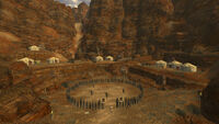 Fallout New Vegas Great Khan Red Rock Canyon (2)