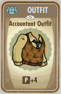 FoS Accountant outfit Card