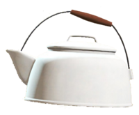 Clean tea kettle