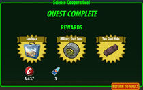 FoS Science Cooperative! rewards E