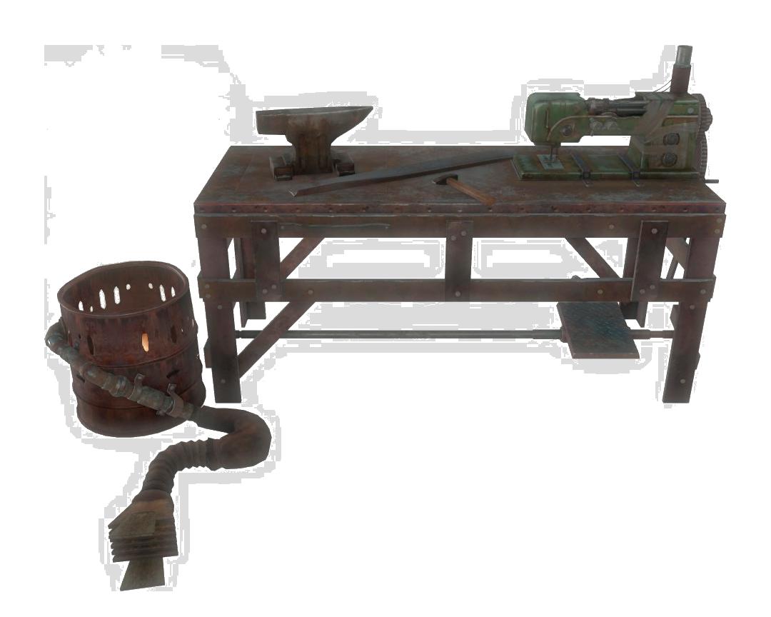 Armor Workbench Fallout Wiki Fandom Powered By Wikia