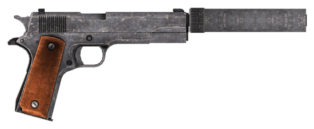 File:.45 Auto pistol with the silencer modification, including cut content.png