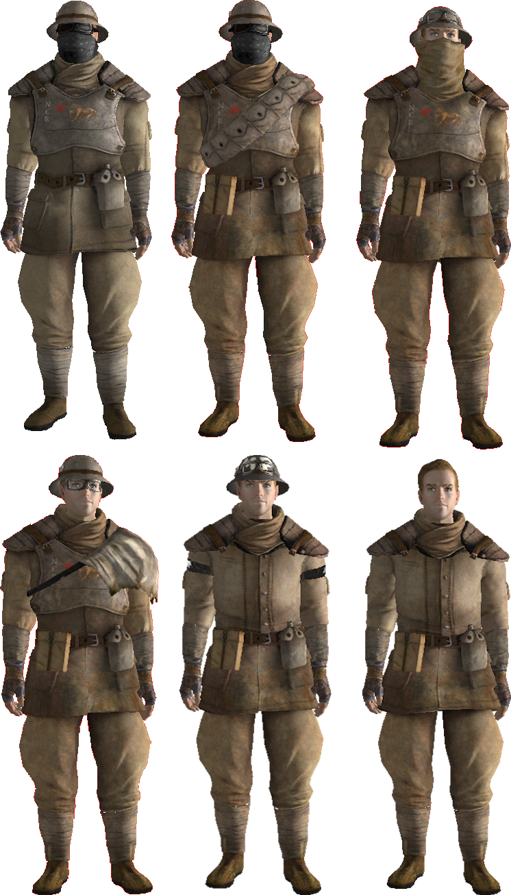 Image - FNV Trooper Outfits NCR.png | Fallout Wiki | FANDOM powered by Wikia