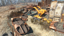 FO4 Jalbert Brothers disposal forklift