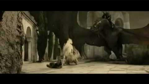 LOTR - Deleted Scenes - Witch King vs. Gandalf