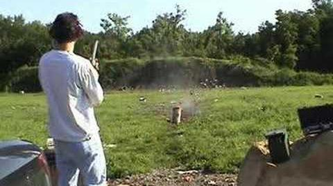 Watermelon vs. 50 caliber S&W M500 500 magnum