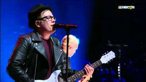 Fall Out Boy 2015 NHL All Star Game-0