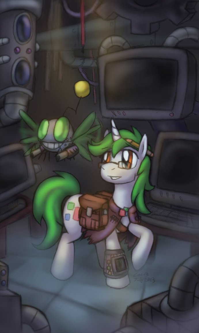 Fallout Equestria The Iron Prince Spectrum Square