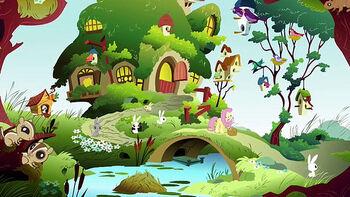 Fluttershy cottage