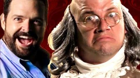 Billy Mays vs Ben Franklin. Epic Rap Battles of History 10