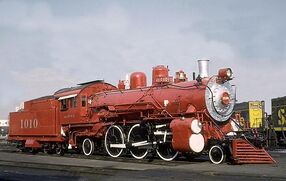 Satan Fe Locomotive
