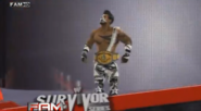 Sean Nova at Survivor Series