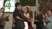 Het huwelijk van Veronique Van den Bossche en Mario Van de Caveye