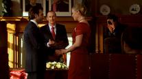Het huwelijk van Peter Van den Bossche en June Van Damme