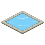 Decoration-reflecting-pool
