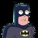 Facespace portrait batman