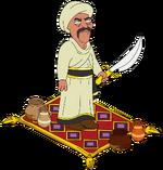 Deco-swordsman