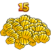 Youearned15clams