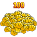 Youearned100clams