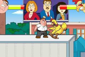 Family Guy fight