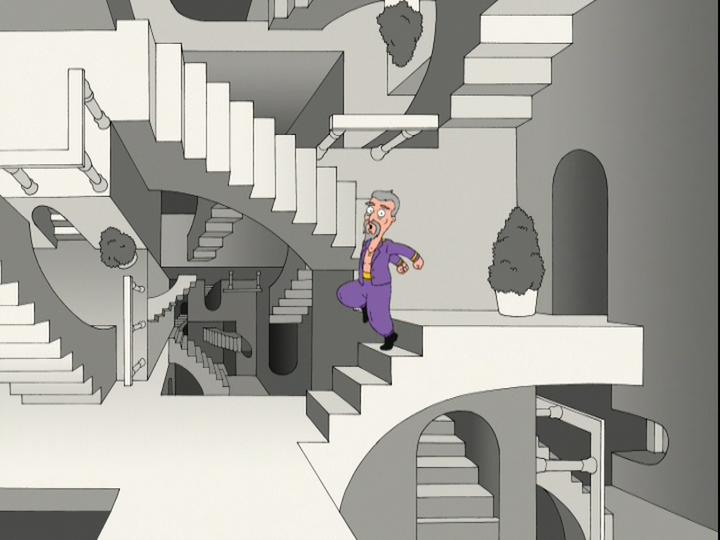 M C Escher Family Guy Wiki Fandom Powered By Wikia