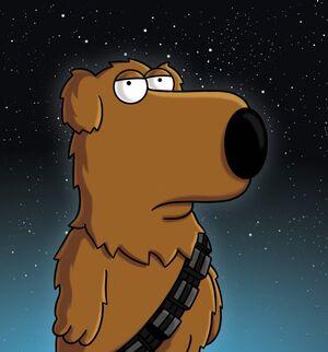 Brian as Chewie