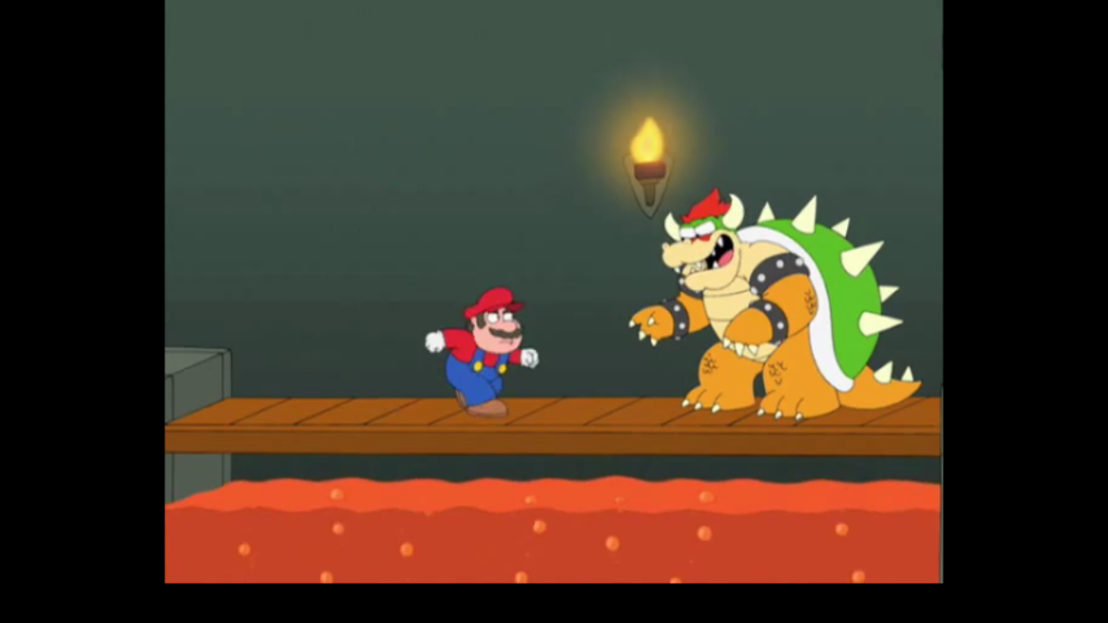 Mario Family Guy Image - Mario et bowse...