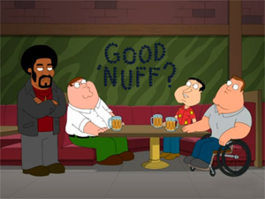 Файл:Jerome is the New Black - Family Guy promo.png