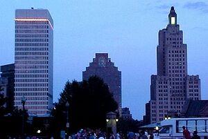 Providence skyline close
