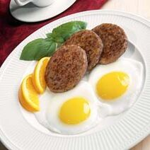 Fried-eggs-sausages