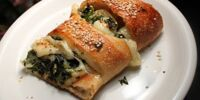 Spinach and Ricotta Cheese Calzone