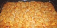 Tater tot casserole by Lacylacylacy