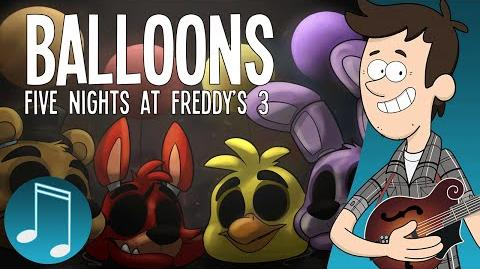 """Balloons"" - Five Nights at Freddy's 3 Song - by MandoPony"
