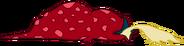 Spitting Red Lump Lizard Transparent