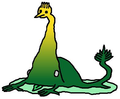File:Weird Bird-Headed Frog-Like Creature Transparent.png