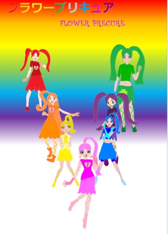 File:Flower Precure poster.png