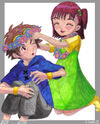 Digimon Takato and Jeri