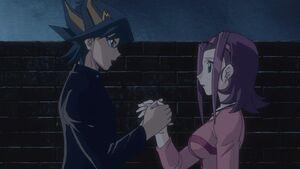 Yusei and Aki